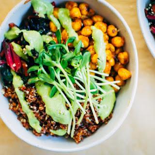 Quinoa Nourish Bowl w/ The Best Avocado Dressing