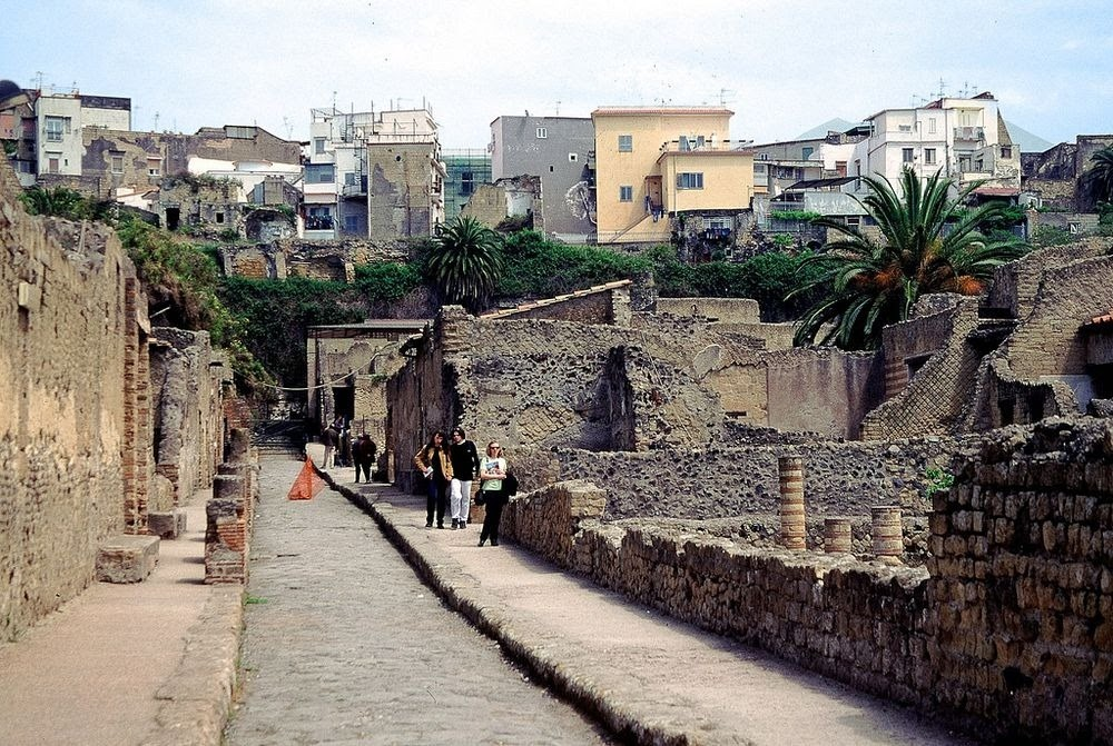 Herculano, a cidade menos conhecida de uma tragédia