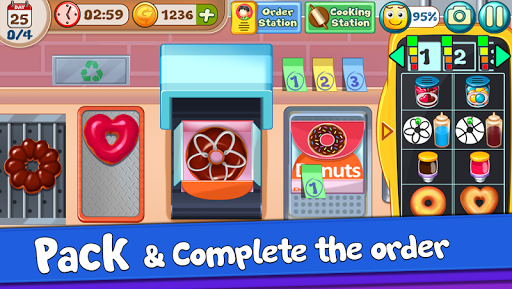 Donut Truck - Cafe Kitchen Cooking Games filehippodl screenshot 4