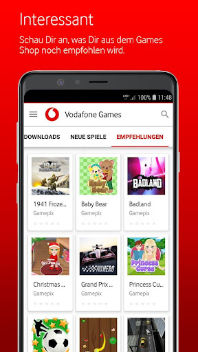 Vodafone Games 1.9.0 screenshots 4