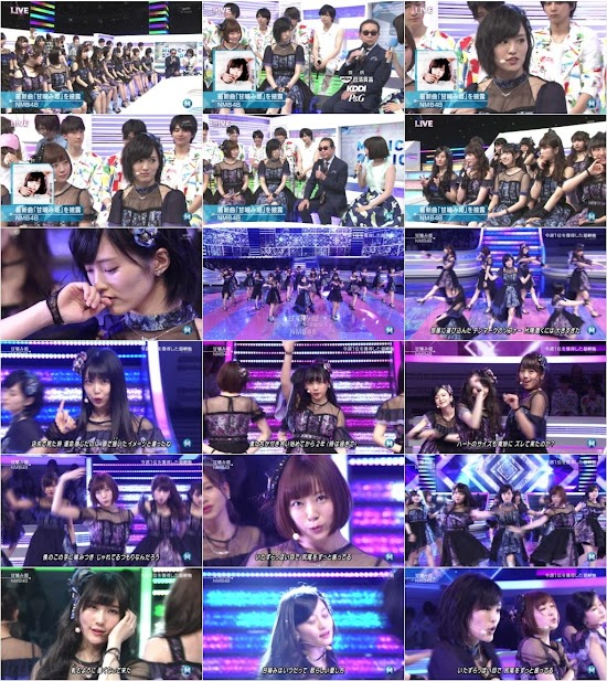 (TV-Music)(1080i) NMB48 – Music Station 160429