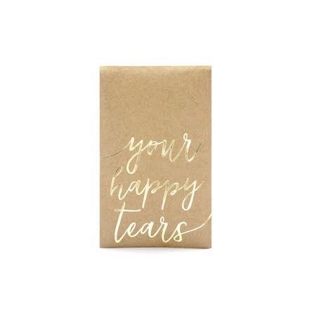 Näsdukar i ficka - Your happy tears
