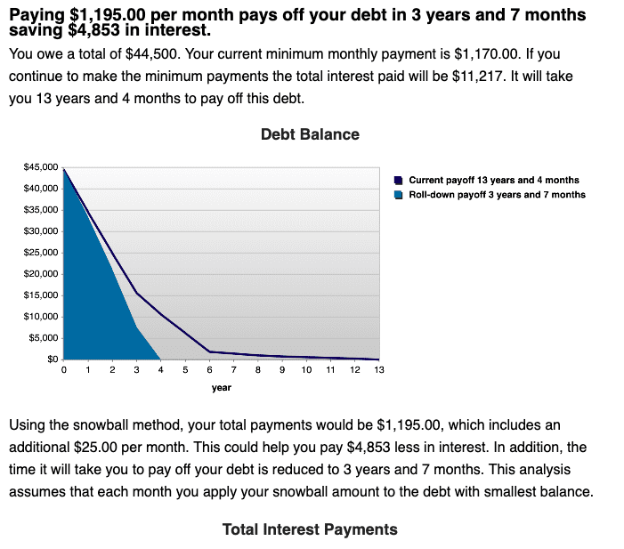 how does fast does debt snowball method work