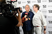 Designers Mark Badgley and James Mischka of the fashion line Badgley Mischka.