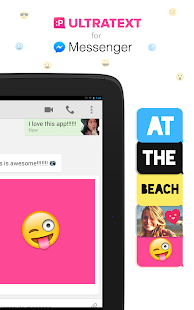 Ultratext for Messenger- screenshot thumbnail