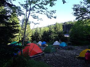 テント場の様子