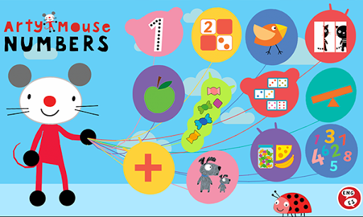 Arty Mouse Numbers apktram screenshots 1