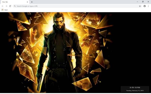 Deus Ex: Human Revolution New Tab Theme