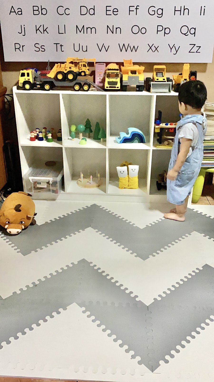 open-ended toys or montessori toys for engaging our toddler