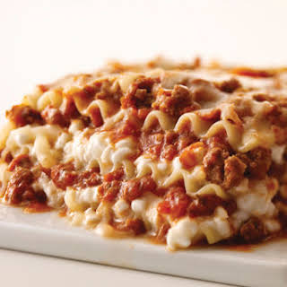 Better-than-Ever Cheesy Meat Lasagna.