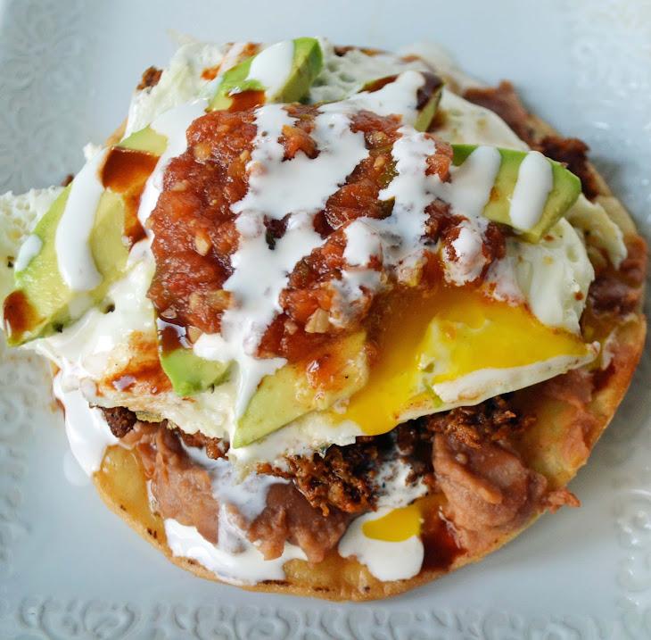 Chorizo Huevos Rancheros Tostadas Recipe | Yummly
