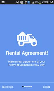 Equipment Rental Management - náhled