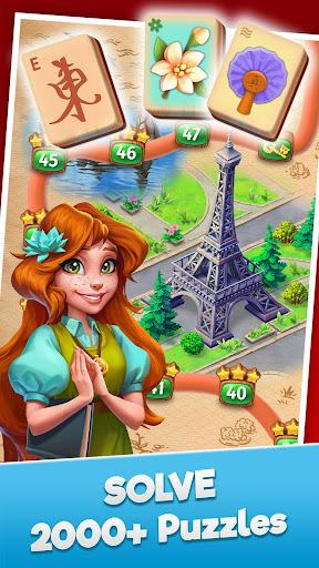 Mahjong Journey: A Tile Match Adventure Quest capturas de pantalla 1