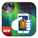 Moon battery charger prank icon