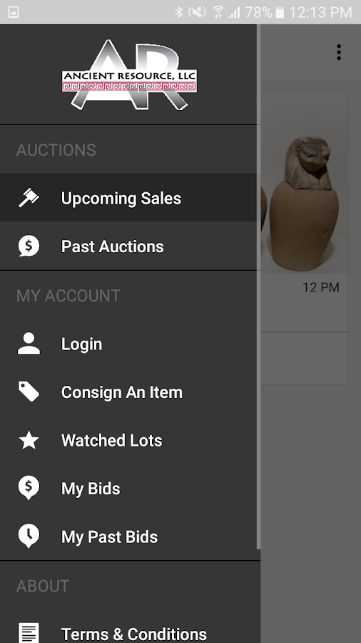 Ancient Resource Auctions- screenshot
