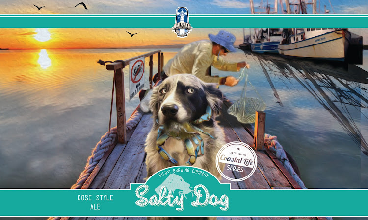 Logo of Biloxi Salty Dog