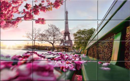 Tile Puzzle France  screenshots 1