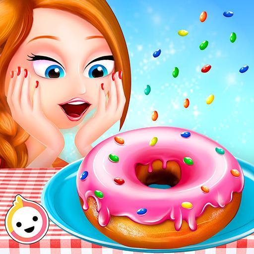 Donut Bakery Shop - Kids Food Maker Games