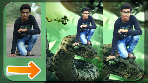 Snake Photo Editor - Selfie with Snake 1.5 screenshots 1