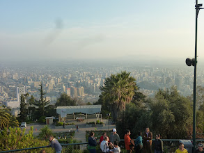 Photo: You can really see the whole city from here. It's huge!