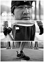 Photo: Triptychs of Strangers #2: The Leg-Stretcher, Paris - Full Story > http://goo.gl/8CQnD