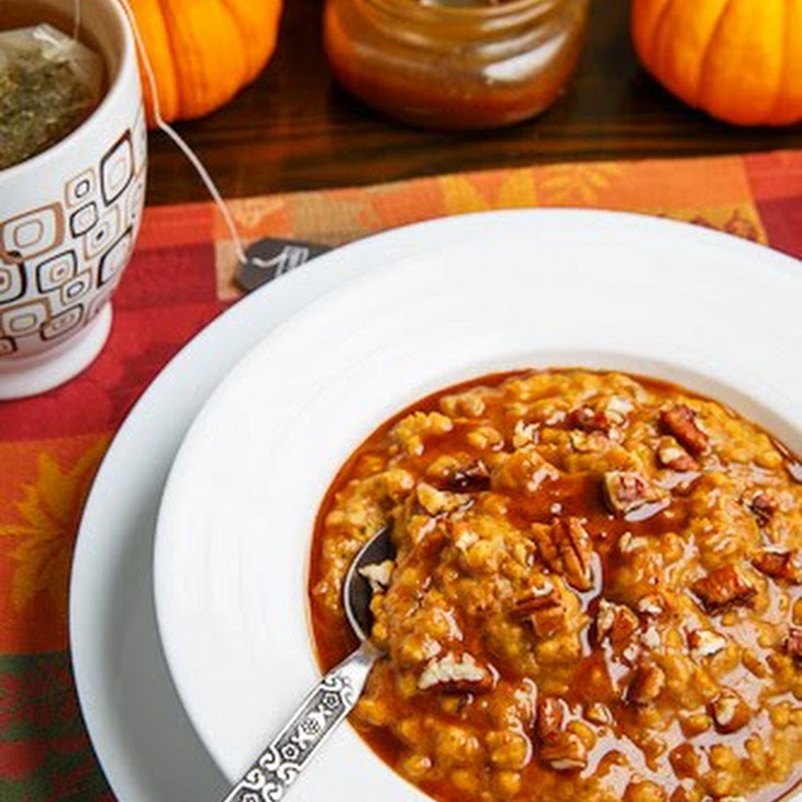 Slow Cooker Pumpkin Pie Steel Cut Oatmeal Recipe | Yummly