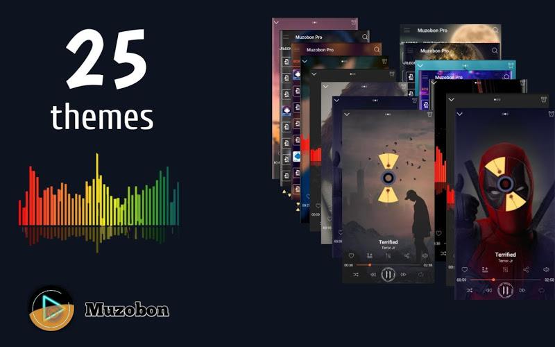 Music player Muzobon Pro Screenshot 3