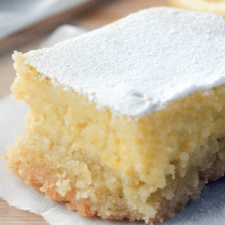Keto Lemon Bars.