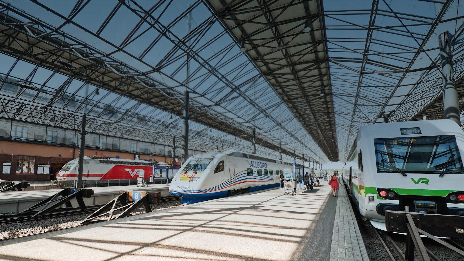 محطات السكك الحديدية