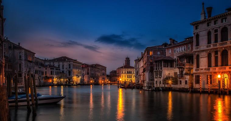 Affresco veneziano di Sergio Locatelli