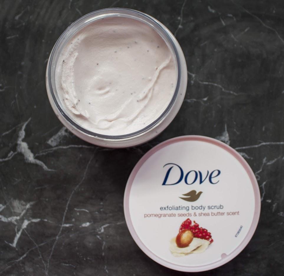 Dove Exfoliating Body Scrub Miss Prettiness