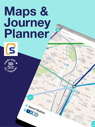 Seoul Metro Subway Map and Route Planner screenshot 7