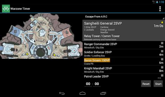 Warzone Timer screenshot
