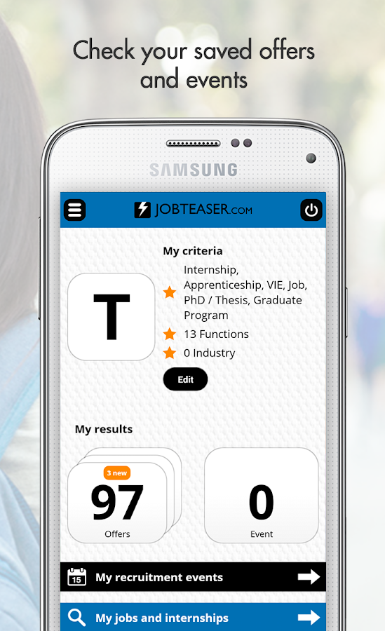 JobTeaser – Internship and Job- screenshot