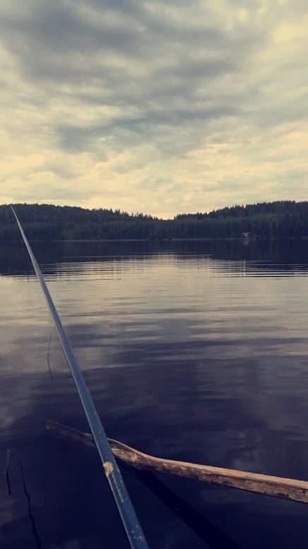 kalassa on hyvät maisemat