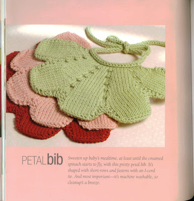 Ravelry: Knit Bib pattern by April Cromwell
