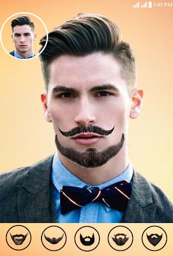Macho Men Beard Hair Style Mustache Photomaker By New Style Photo