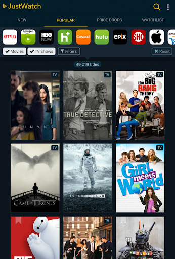 JustWatch - Search Engine for Streaming and Cinema 0.22.3 screenshots 11