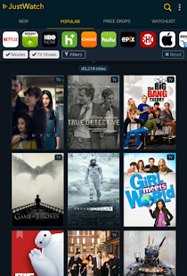 JustWatch – Search Engine for Streaming and Cinema 11