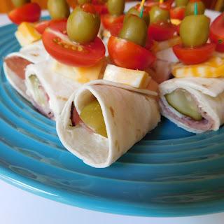 Ham and Salami Roll-ups #SundaySupper