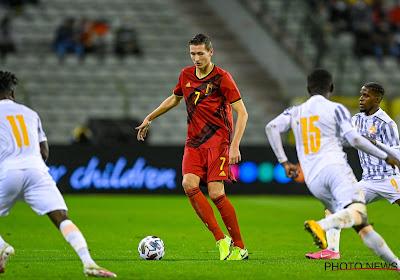 """Vanaken dans un rôle différent de celui au Club de Bruges : """"Ça a bien fonctionné"""""""