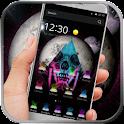 Color Skull Space Theme icon