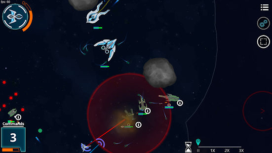 Galaxy of Iron - Starship RTS- screenshot thumbnail