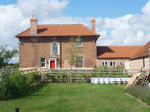Photo: Arriving off the A1 then the A57 to High Brecks Farm on the plain of the River Trent, we thought of Belgian château breweries we had visited where the beers were brewed in redundant farm buildings, and where fine food was often available!
