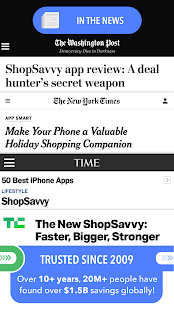 ShopSavvy - Barcode Scanner & Price Comparison Screenshot