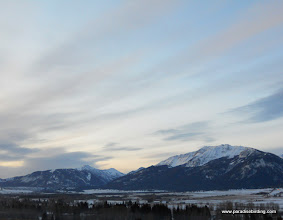 Photo: Another spectacular sunrise approaches the Wallowa Valley