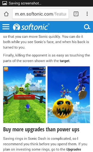 New Tips for Sonic Dash