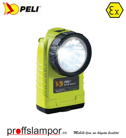 Ficklampa Peli 3715 LED Zone 0