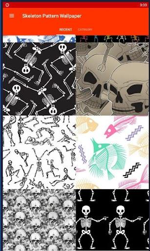 Skeleton Pattern Wallpapers screenshot 1 Skeleton Pattern Wallpapers screenshot 2 ...