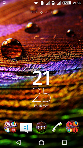 Peacock Feather XZ Theme